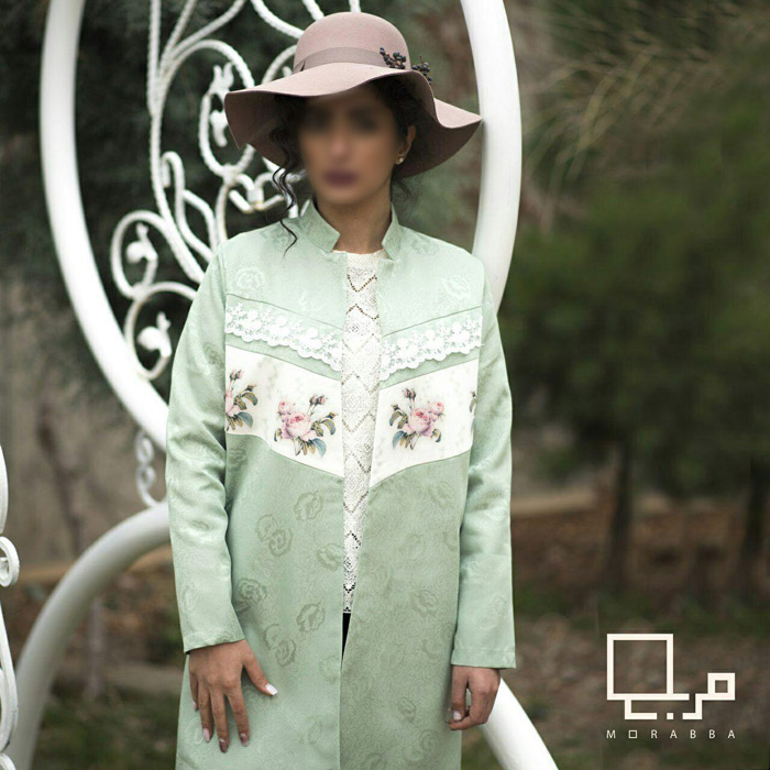 مدل مانتو برند ایرانی مربع
