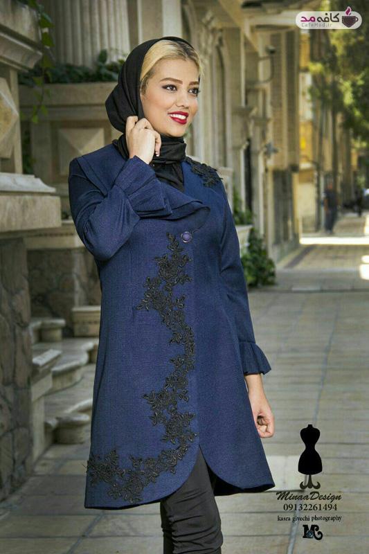 مدل مانتو برند Mina Design