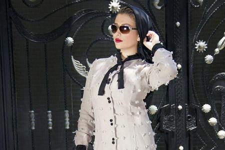 مدل مانتو برند Mina Design 9