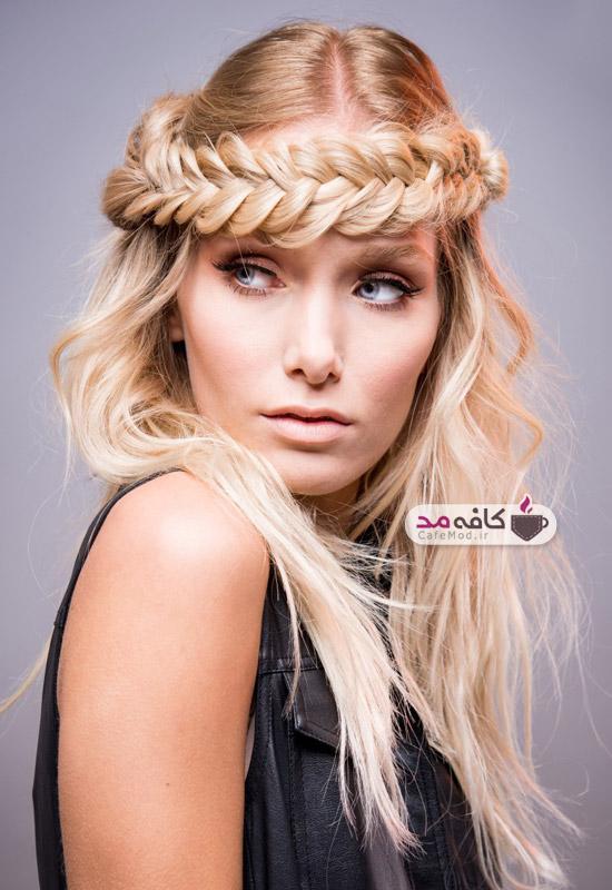 مدل آرایش مو زنانه