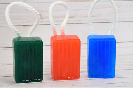آموزش ساخت صابون های طناب دار 2