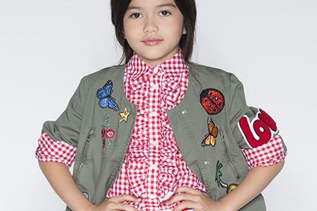 مدل لباس دخترانه جدید بهاره 10
