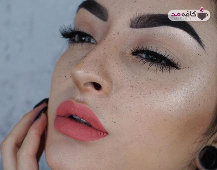 مدل آرایش جذاب