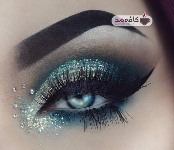 آرایش چشم فانتزی