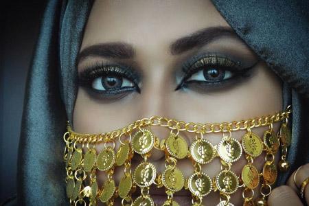 آرایش چشم عربی 9