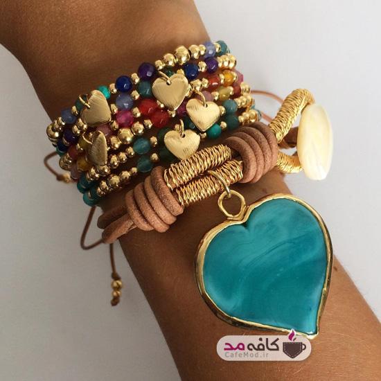 مدل دستبند دستساز
