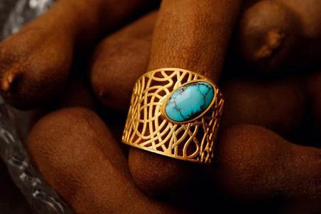مدل طلا و جواهر ایرانی اشرفیه 10