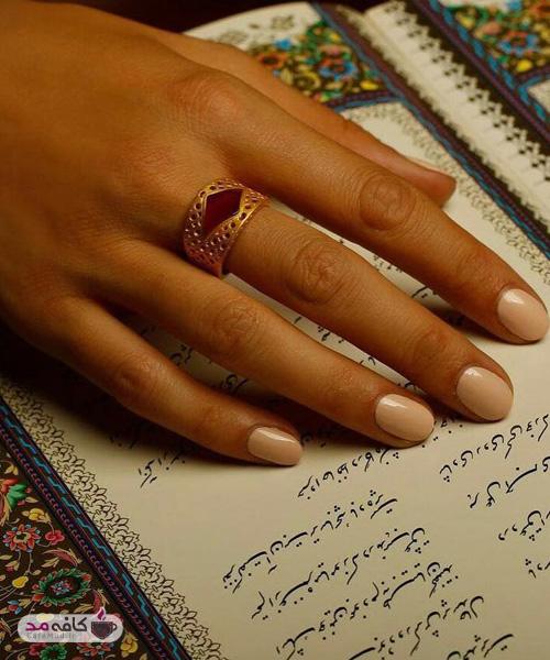 مدل طلا و جواهر برند ایرانی اشرفيه