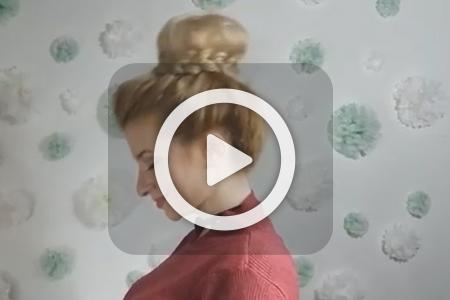 فیلم آموزش بافت موی گوجه ای