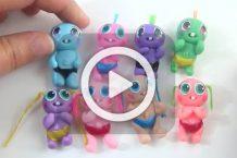 فیلم آموزش عروسک های ریز خمیری