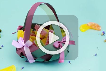 فیلم ساخت سبد شکلات