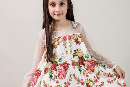 مدل لباس مجلسی دخترانه Mariab 10