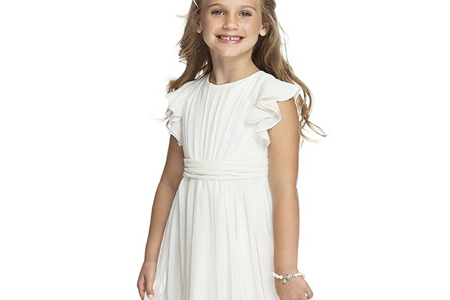 مدل لباس عروس دخترانه Dessy 11
