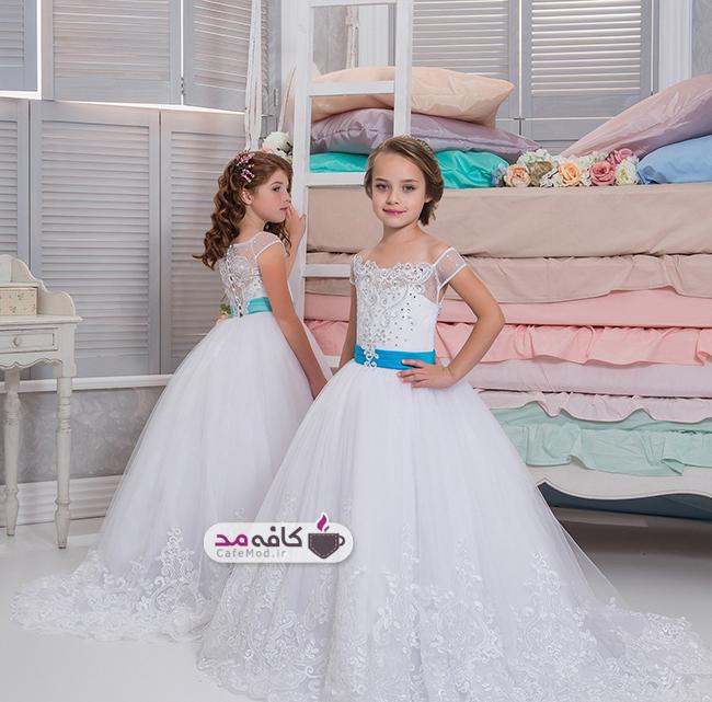 مدل لباس مجلسی دخترانه Licor