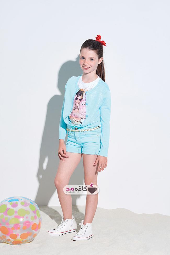مدل لباس تابستانی دخترانه