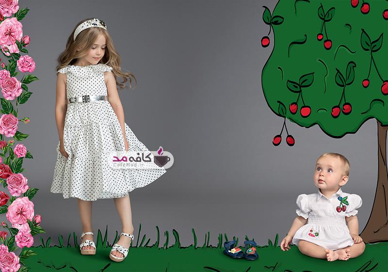 مدل لباس مجلسی دخترانه Dolce&Gabbana
