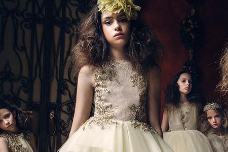 مدل لباس مجلسی دخترانه MISCHKA AOKI 10