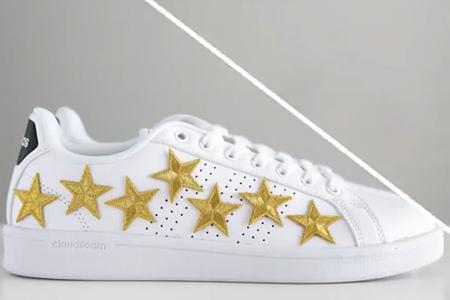 فیلم آموزش تزیین کفش با ستاره