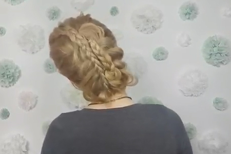 فیلم آرایش موی بلند