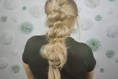 فیلم بافت موی بلند