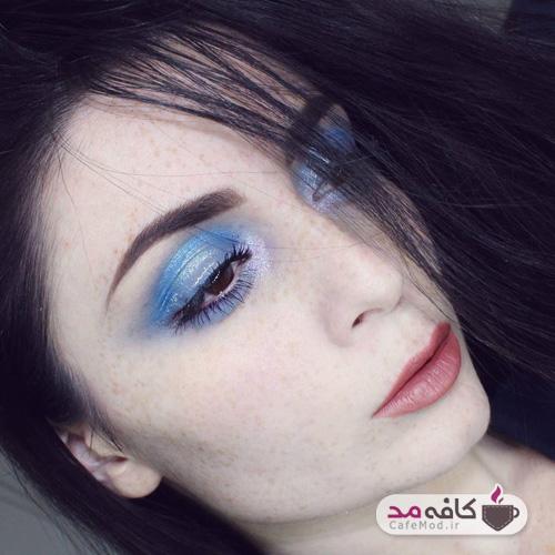 مدل آرایش صورت کک و مکی