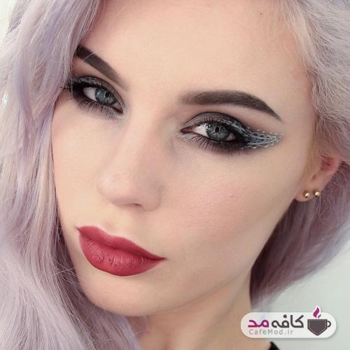 مدل آرایش شیک و ساده