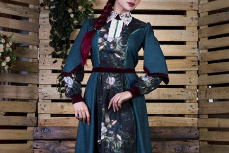 مدل مانتو سنتی ایرانی CHEE 9