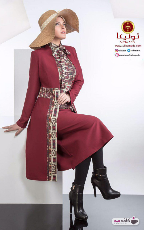 مدل مانتو Tulika