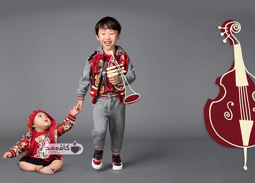 مدل لباس پسرانه Dolce&Gabbana