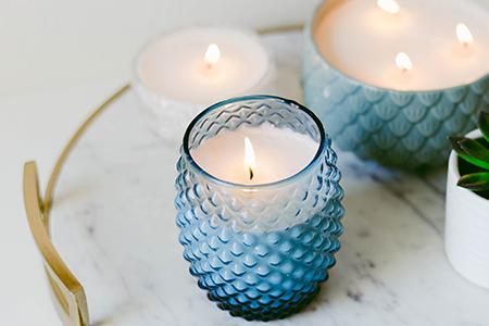 آموزش ساخت شمع های لیوانی 2