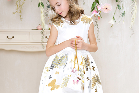 مدل لباس مجلسی تابستانی دخترانه 11