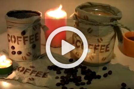 فیلم ساخت جا شمعی شیشه ای