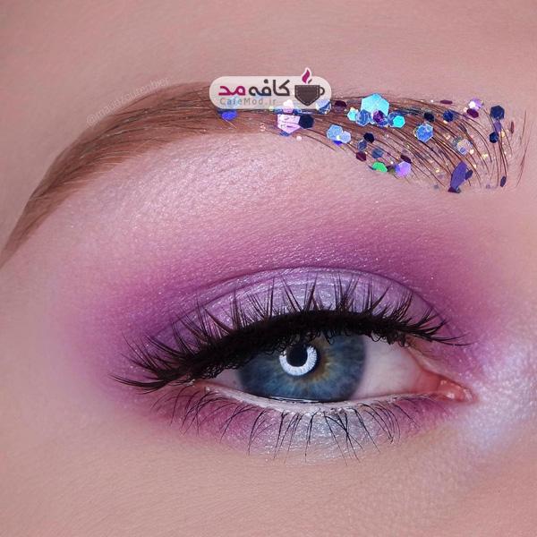 مدل آرایش چشم لب صورت
