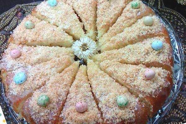طرز تهیه کیک شنی 1