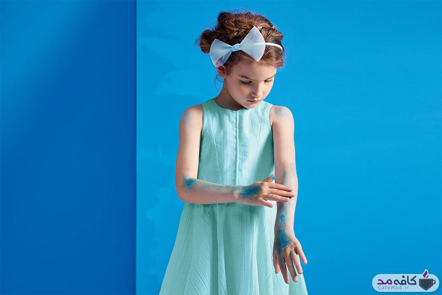 مدل لباس دخترانه و پسرانه Dior 2017