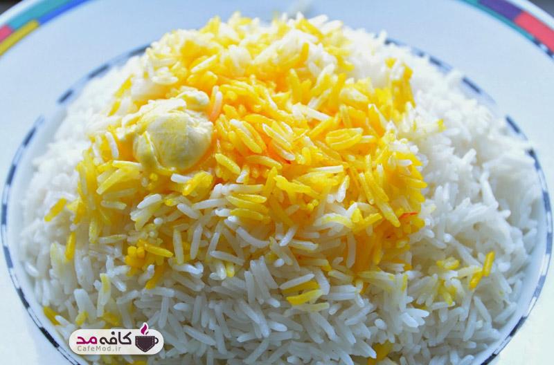 ترفند پخت و دم کردن برنج مجلسی