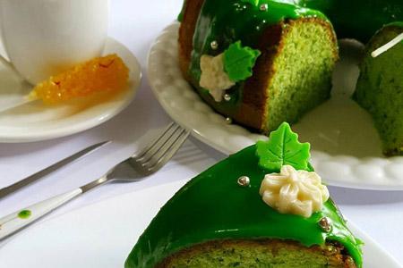 دستور پخت کیک اسفناج