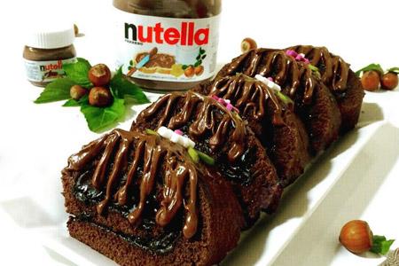 دستور کیک رولى نوتلا