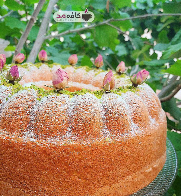 طرز تهیه کیک وانیلی