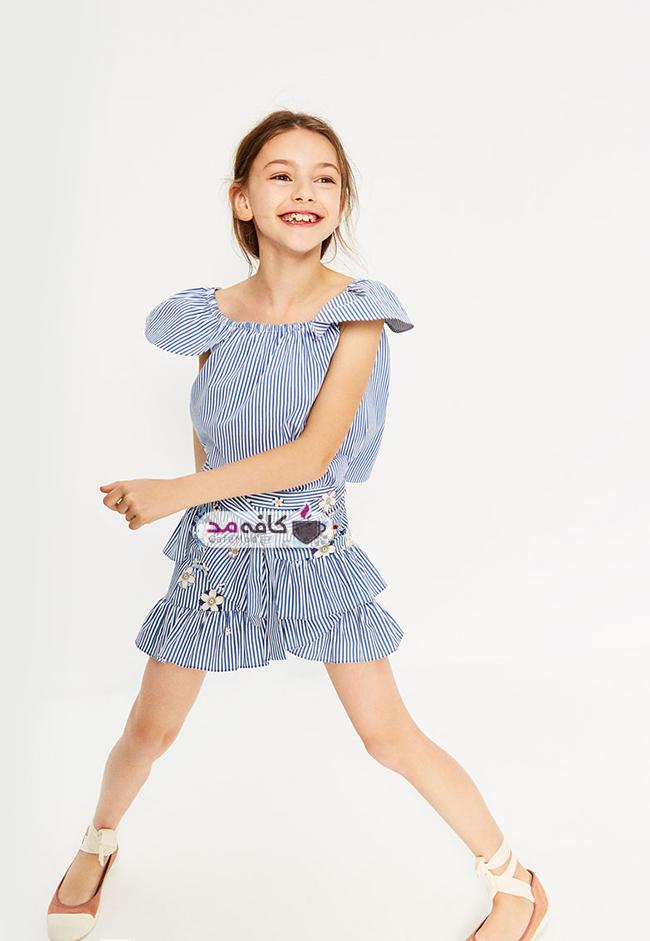 مدل لباس بهاره و تابستانه دخترانه Zara