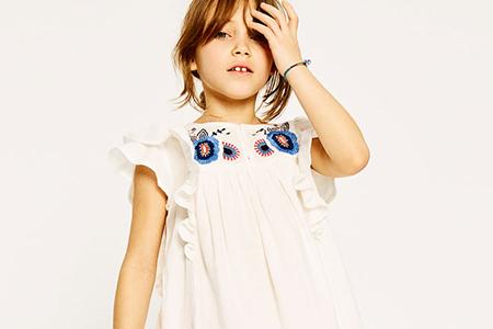 مدل لباس بهاره و تابستانه دخترانه Zara 10