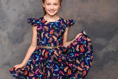 مدل لباس مجلسی دخترانه Maryteks 8