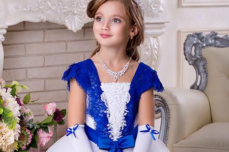 مدل های لباس مجلسی دخترانه پف دار 4