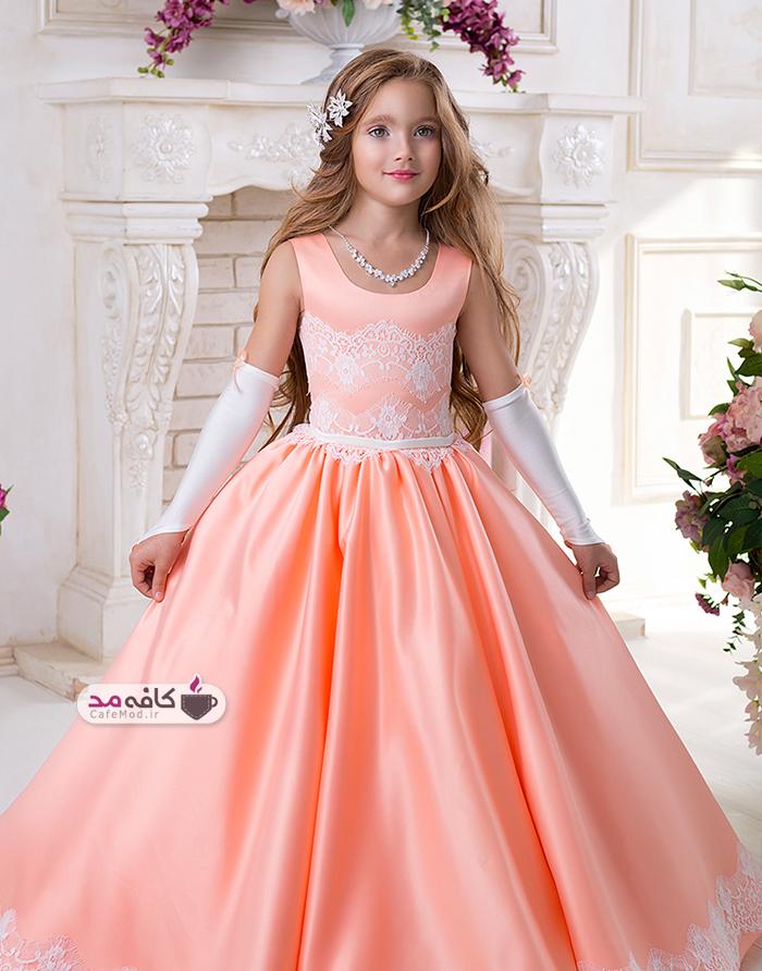 مدل های لباس مجلسی دخترانه پف دار