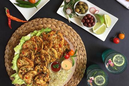 طرز تهیه کوکو مرغ و قارچ