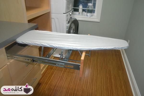 مدل های میز اتوی مخفی برای فضاهای کوچک