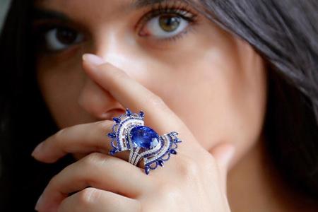 مدل انگشتر جواهر جدید 7