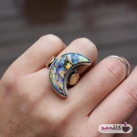 مدل انگشتر نقره دستساز