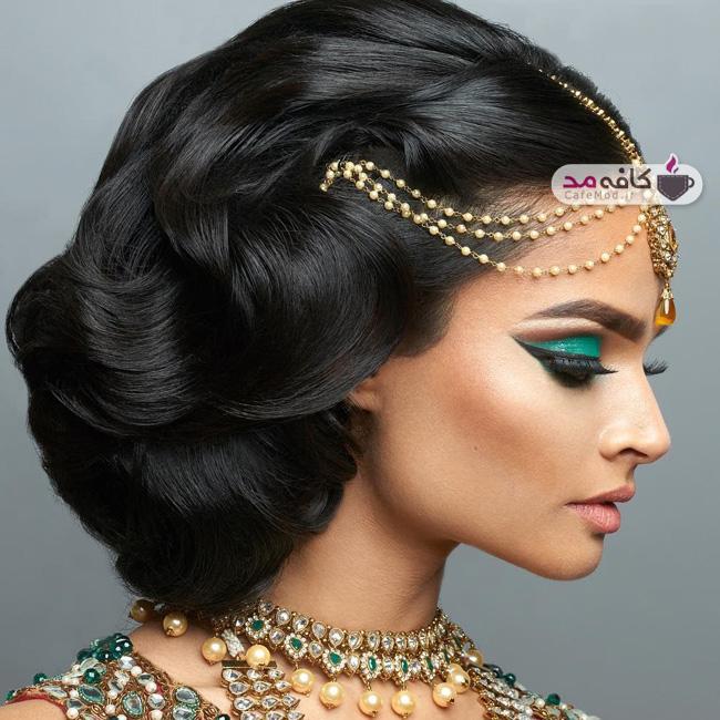 مدل مو و آرایش هندی