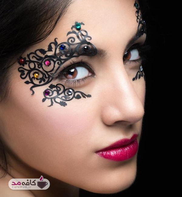 آرایش برای انواع چهره ها